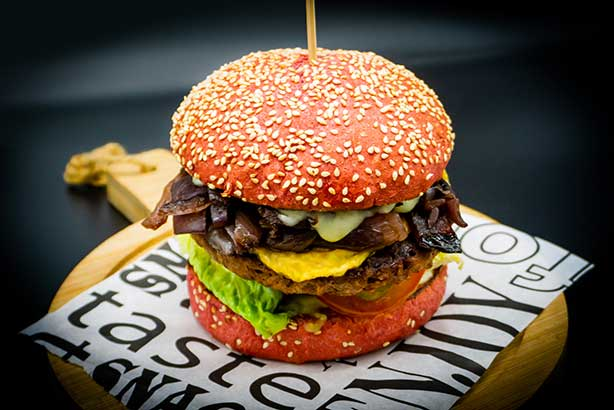 Wow No Cow Burger